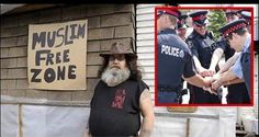 """Liberals Call Police On Veteran's """"Muslim Free Zone,"""" Cops Have 9 Perfect Words"""