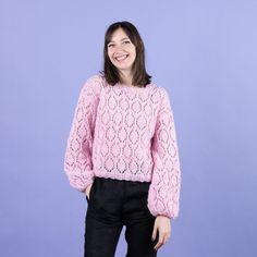 Tender Tallulah Mönster Free Pattern, Knitting Patterns Free, Free Knitting, Circular Needles, Edge Stitch, Knit Or Crochet, Crochet Clothes, Pull, Cardigans