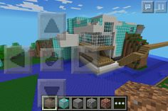 My mincraft house I built:)