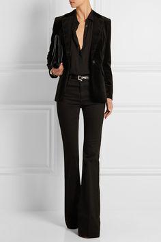 Frame Denim|Le Velvet blazer|NET-A-PORTER.COM