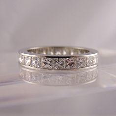 Choosing Diamond and Gemstone Rings Full Eternity Ring, Eternity Ring Diamond, Diamond Gemstone, Diamond Rings, Gemstone Rings, Commitment Rings, Three Stone Rings, Wedding Rings For Women, Unique Rings