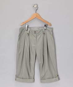 Pistachio Carly Combat Trousers