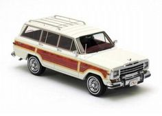 Neo Scale Models 1/43 scale Jeep Wagoneer in White