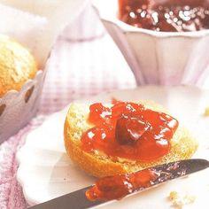 Gelée de cranberries à l'orange (canneberges)