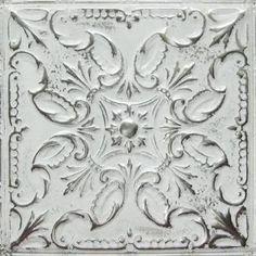 Image Result For White Tin Tile Backsplash