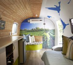 If You Re Looking For Travel Trailer Remodel Ideas This Airstream Rv Renovation Is Awesome