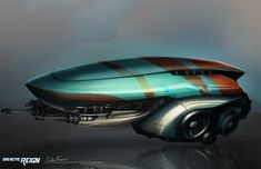 concept ships: Galactic Reign spaceship art by Colin Foran