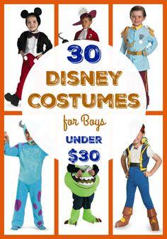 30 Disney Costumes for Boys Under $30  sc 1 st  Pinterest & Great Disney Dress ups for Boys! #Disney #boys Tipsaholic.com | More ...