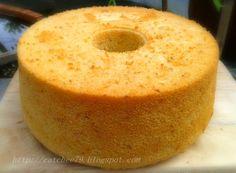 只想让自己快乐~: 香蕉戚风蛋糕