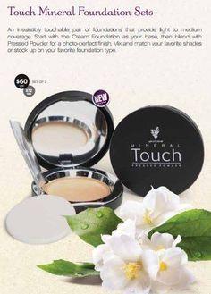 Touch Foundation Touch Foundation, Foundation Sets, Mineral Foundation, Younique, Minerals, Blush, Cream, Beauty, Creme Caramel