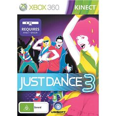Xbox360 Kinect Just Dance 3 - Games - Xbox 360 - Gaming - The Warehouse