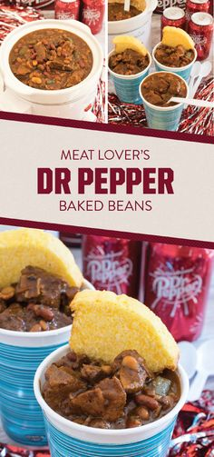 For a touchdown-worthy dish, feast your eyes on this recipe for Meat Lovers Baked Beans! With Dr Pepper®, bacon, chili powder, and BBQ sauce rounding out the sensational seasonings, it's not hard to see that this fall favorite is all about the flavor! By scoring the ingredients for this comfort food creation and all the game day essentials, you'll be ready to cheer on your favorite football team in the most delicious way—just don't forget the cornbread garnish!