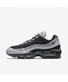 Mens Nike Air Max 95 Essential Black/Wolf Grey/Cool Grey Shoe