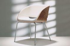 Modern Stuhl / Polster / Kufen / Standard-Fußgestell D5 hülsta