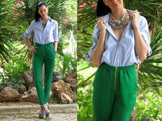 B for Blue, G for Green, L for Love and  all for you! (by Konstantina Tzagaraki) http://lookbook.nu/look/1943772-B