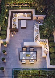 40 ιδέες για χτιστούς και μόνιμους καναπέδες για τον κήπο!   Φτιάξτο μόνος σου - Κατασκευές DIY - Do it yourself