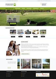 Residencia Ruta de la Plata. Responsive web design.