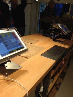 Bäckerei in Zürich mit iPad Kasse GASTROFIX Bediener Ansicht