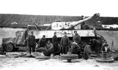 Repairing the Tiger | par WW2 Panzer