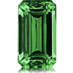 A wonderful, extremely fine Grossular. This lovely carat Emerald Cut boasts top color, plenty of life & flawless clarity.