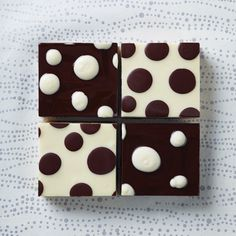 Spotted Cow Brownies