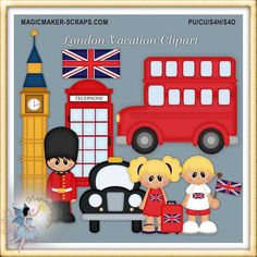 Vacation - London Clipart