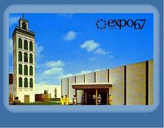 The Morocco Pavilion (Expo Expo 67 Montreal, Montreal Ville, Lounge, Big Show, World's Fair, Photos, Pictures, Pop Culture, Retro