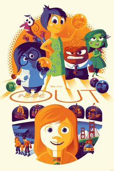 Inside Out (2015) [864x1296] by Tom Whalen