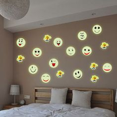 21*30cm free shipping wholesale vinyl pvc stencils wall stickers emoji stickers for home decoration removable-in Wall Stickers from Home & Garden on Aliexpress.com   Alibaba Group