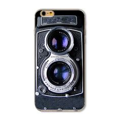 Camera iPhone 6 / 6s Silicone phone case  Camera iPhone 6 / 6s Silicone phone case. Vintage camera style. New in package. Accessories Phone Cases