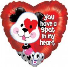 Folieballon You have a spot in my heart