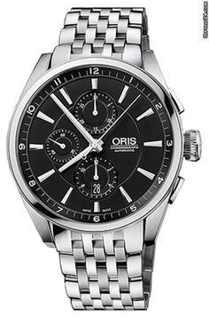 Oris Artix Chronograph ad: C$ 3,878 Oris Artix Artix Chronograph Ref. No. 674.7644.4054.MB; Steel; Automatic; Condition 0 (unworn); New; Location: United States