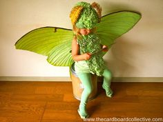 Luna Moth Costume
