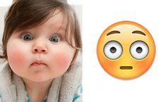 Faccine, quando i volti dei bambini ricordano le emoticon