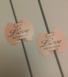Wedding Sparkler Tags from I Love Sparklers! Check out these beautiful tags in Mountain Rose prices start at $15.00.  http://www.sparklersrus.com/Mountain-Rose-Sparkler-Tags_p_92.html