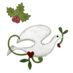 @Overstock - Add a stylish touch to your holiday projects by using this dove and holly die cut set from Sizzix. This die is designed for use only with the BIGkick, Big Shot and Vagabond machines and requires the use of a pair of Cutting Pads.http://www.overstock.com/Crafts-Sewing/Sizzix-Bigz-Dove-and-Holly-Die/7564742/product.html?CID=214117 $19.99