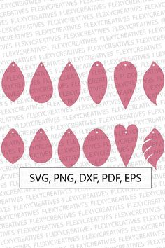 No holes Earring SVG, Tear Drop, Pendant svg, Vector, Leather Earring Jewelry Laser Cut Template Commercial Use Cut File DXF pdf PNG diyleatherearrings Diy Leather Earrings, Diy Earrings, Teardrop Earrings, Leather Jewelry, Silver Jewelry, Leather Bracelets, Hoop Earrings, Harry Potter Logo, Jewelry Crafts