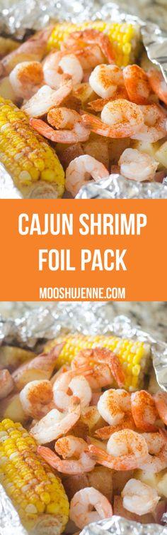 Cajun Shrimp Foil Pa