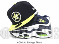 sports shoes 5af90 d8ff4 Houston Astros Midnight Navy Neon Green Metallic Silver MLB 59Fifty New Era  Fitted Hat Tango Blast