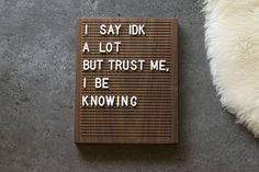 THE ORIGINAL WOODEN LETTER BOARD- 8x10 WALNUT Letter Board •Premium (Hand Selected) Lumber •Local Hardwood from Walla Walla, WA •Sustainably Sourced •Handmade in Washington State We hand-pick our Walnut directly form a Mill in the Walla Walla Valley. We turn each board into a