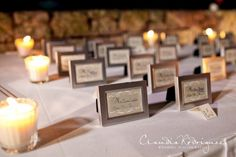 Super cute #wedding placecard idea - simple and elegant!