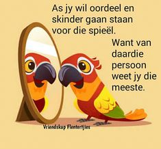 Afrikaanse Quotes, Goeie Nag, Twisted Humor, Food For Thought, Things To Think About, Disney Characters, Fictional Characters, Inspirational Quotes, Van