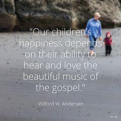 The Music of the Gospel - By Elder WilfordW. Andersen