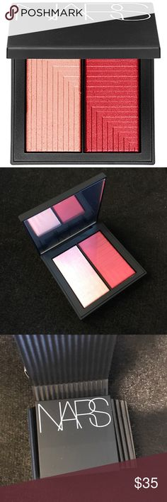 NARS Dual-Intensity Blush - Adoration Brand new in box. Color is Adoration which is described as sparkling baby pink/ shimmering hot pink. This blush has great reviews, but just isn't right for my skin tone. NARS Makeup Blush