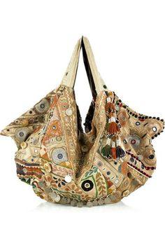 Textiles Handmade Women Bag Tote Bohemian