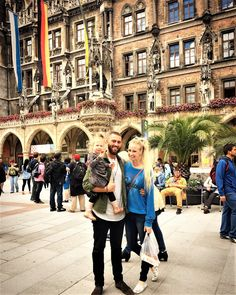 Munich. Backpacking Europe. Backpacking with baby