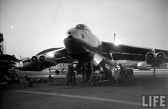 Boeing jet bomber, at MacDill Air Force Base, 1954 Military Jets, Military Aircraft, Air America, Sky Ride, Pilot, Strategic Air Command, Old Planes, Boeing Aircraft, Military Pictures
