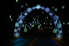 Tanglewood Festival of Lights (holidays nighttime ). NC