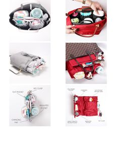 ToteSavvy Mini is the modern alternative to a diaper bag by combining the inner lining of a traditional diaper bag with your own handbag collection. The Mini was developed as a smaller version of our