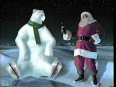 Coca-Cola Santa and Polar Bear Coke Santa, Coca Cola Santa, Coca Cola Christmas, Christmas Time, Christmas Cards, Coca Cola Cake, Coca Cola Polar Bear, Coke Commercial, Best Soda